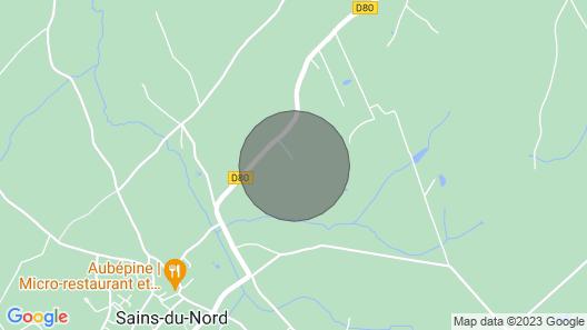 Cottage 6 Places in the Avesnois Regional Park: Le Clos du Ramousies Map