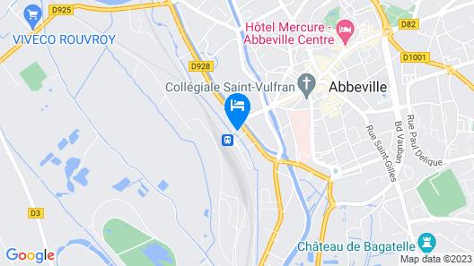 Hotel de la Gare Map