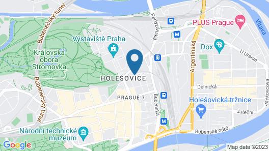 Comfortable Prague Apartments Map