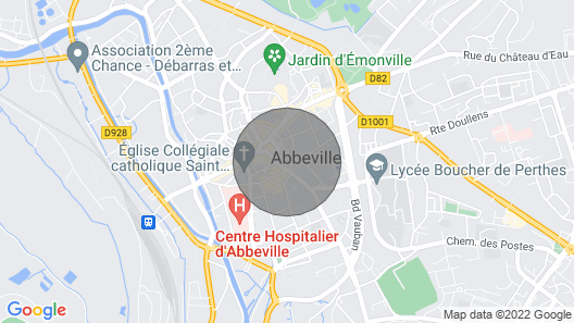 DeYaucourt-Bussus Castle Map