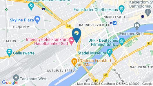 Hotel Excelsior - Central Station Map