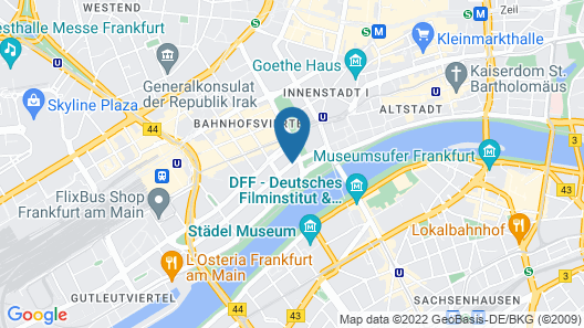 Adina Apartment Hotel Frankfurt Neue Oper Map