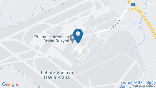 Courtyard by Marriott Prague Airport Map