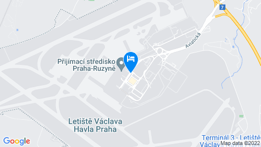 Courtyard by Marriott Prague Airport Map