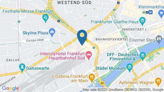 Hamburger Hof Hotel Map