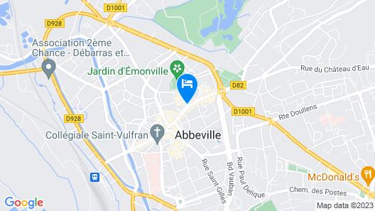 Hôtel Mercure Abbeville Centre - Porte de La Baie de Somme Map