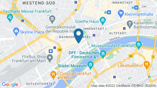Hotel Grand Corner Map