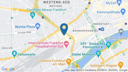 Steigenberger Metropolitan Map