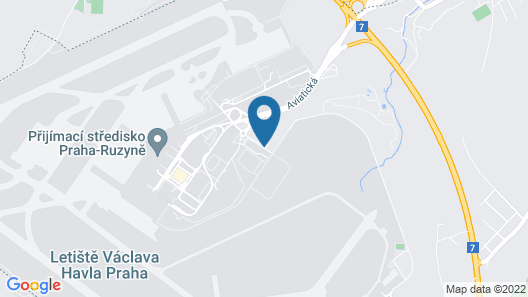 Holiday Inn Prague Airport Map