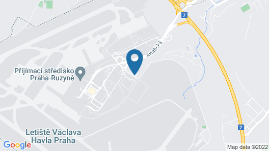 Holiday Inn Prague Airport, an IHG Hotel Map