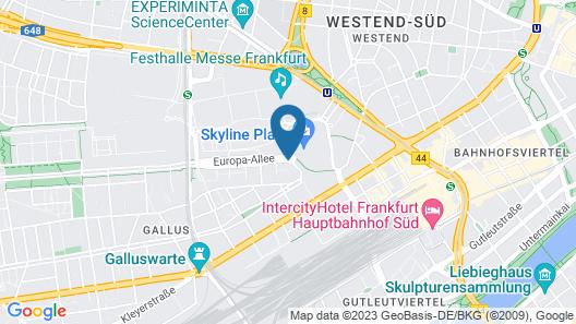 Motel One Frankfurt-Messe Map