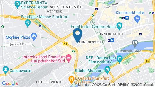 Five Elements Hostel Map