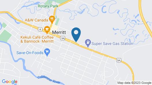 Ranchland Villa Motel Map