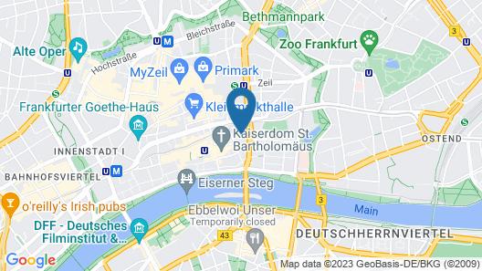 Hotel Spenerhaus Map