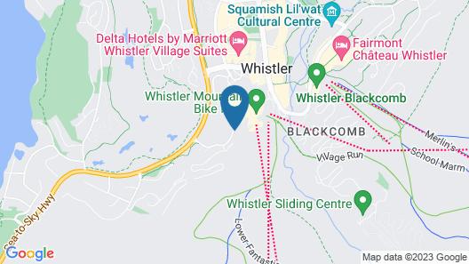 The Westin Resort & Spa, Whistler Map