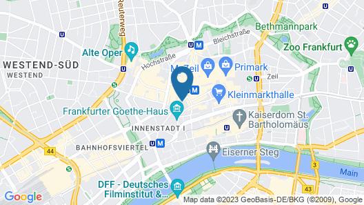 Hotel Zentrum Map