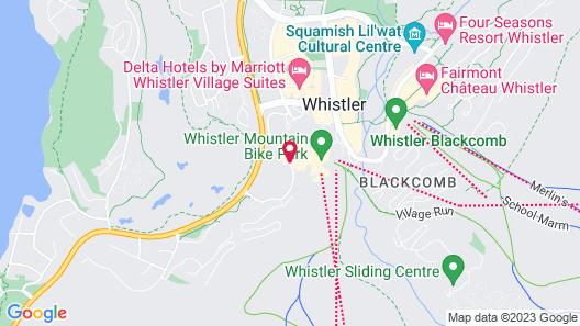 Hilton Whistler Resort & Spa Map