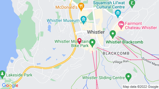 Aava Whistler Hotel Map