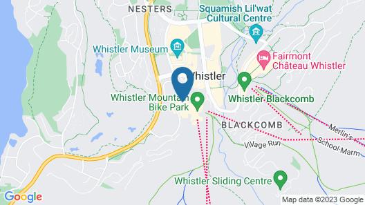 Crystal Lodge Map