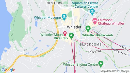Adara Hotel Map