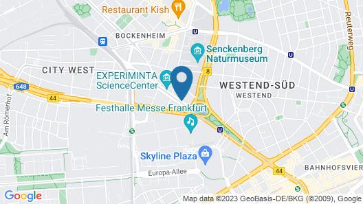 Aparthotel Adagio Frankfurt City Messe Map