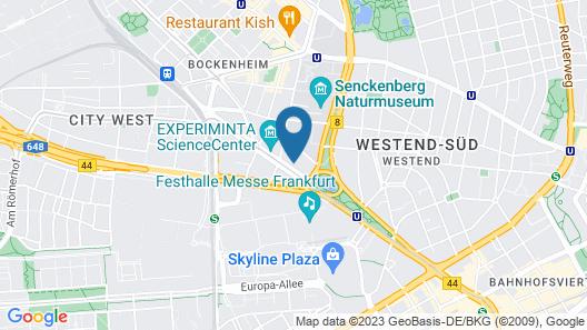 Holiday Inn Express Frankfurt City - Westend, an IHG Hotel Map