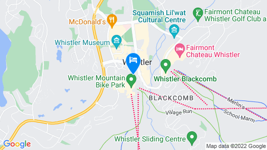 Whistler Village Inn And Suites Map