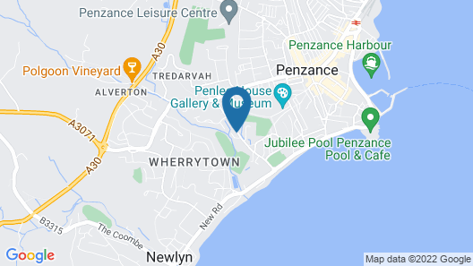 Westbourne Guest House Map