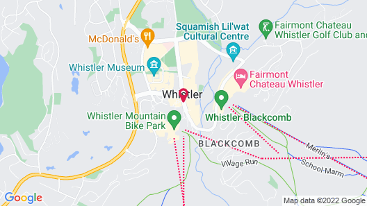 Whistler Peak Lodge by Vacasa Map