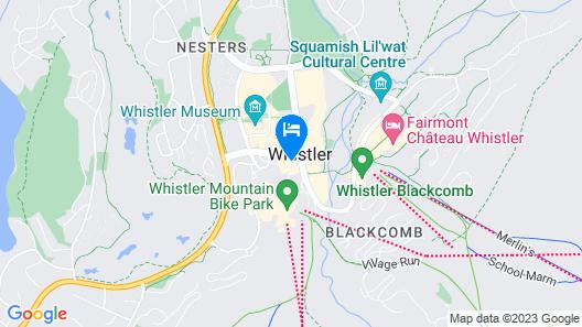 Pan Pacific Whistler Village Centre Map