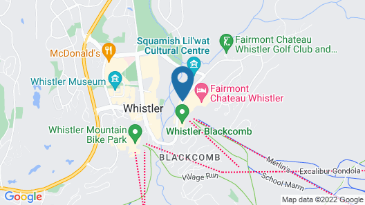 Le Chamois by Whistler Premier Map