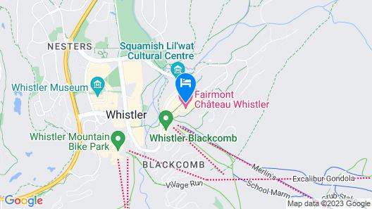 Fairmont Chateau Whistler Map