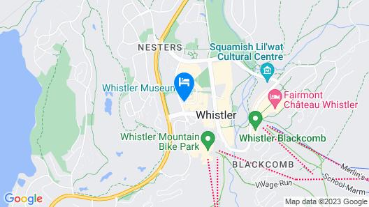 Pinnacle Hotel Whistler Village Map