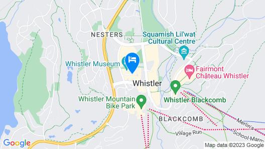 Delta Hotels by Marriott Whistler Village Suites Map