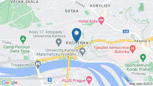 Castle Residence Praha Map