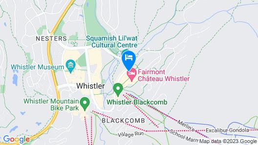 Embarc Whistler Map