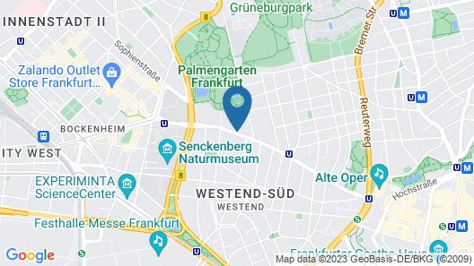 Hotel Palmenhof Map