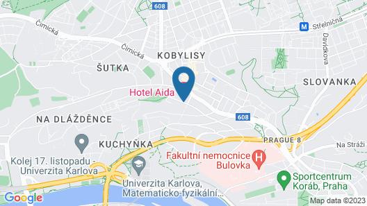 Aida Hotel Map