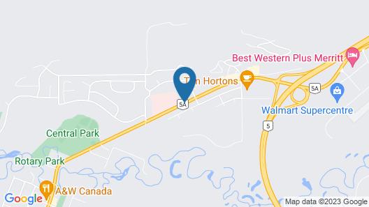 Sportsman Motel Map