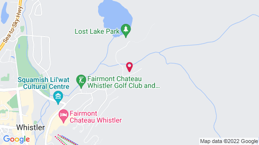 Lost Lake Lodge by Whistler Premier Map