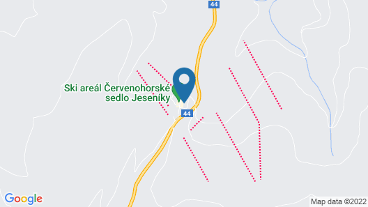 Hotel Červenohorské sedlo Map