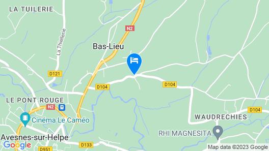 FERME DE GUERSIGNIES Map