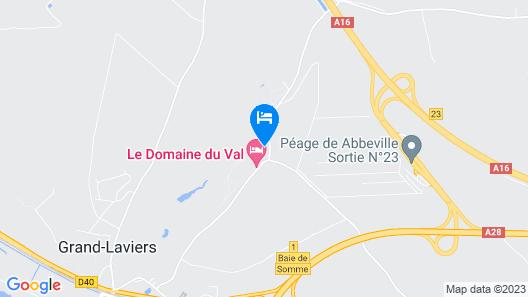 Le Domaine Du Val Map