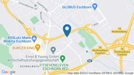 Hyatt House Frankfurt/Eschborn Map