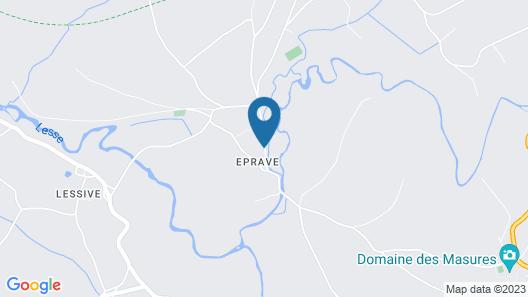 Domaine du Vieux Moulin Map