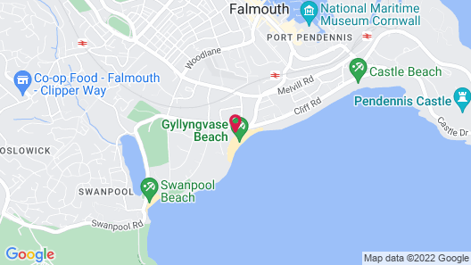 The Falmouth Hotel Map