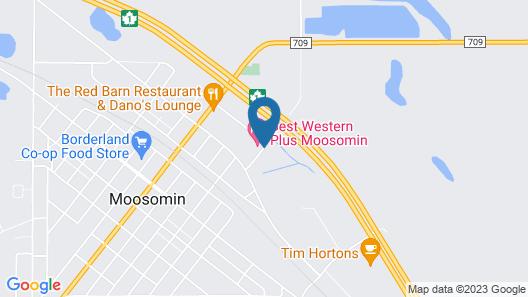 Motel 6 Moosomin, SK Map