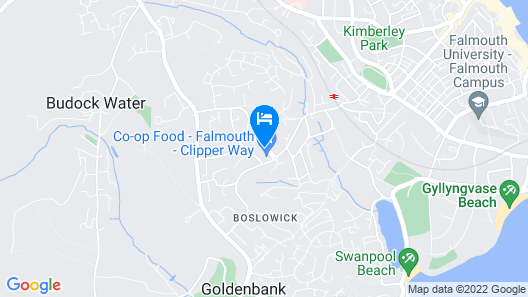 Penmere Manor Hotel Map
