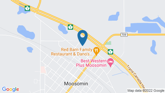 Moosomin Country Squire Inn Map
