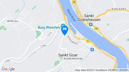 Romantik Hotel Schloss Rheinfels Map